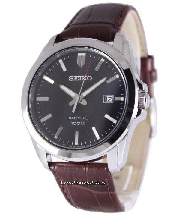 460e03836c1b Reloj de hombre Seiko Neo Classic Quartz Sapphire 100M SGEH49P2