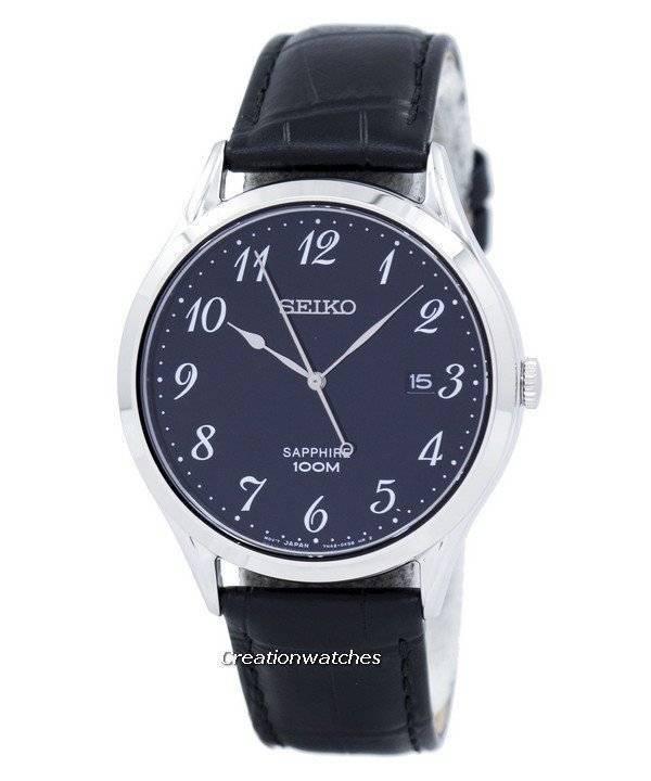 c388fbab5df Relógio Seiko clássico quartzo analógico SGEH77 SGEH77P1 SGEH77P masculino
