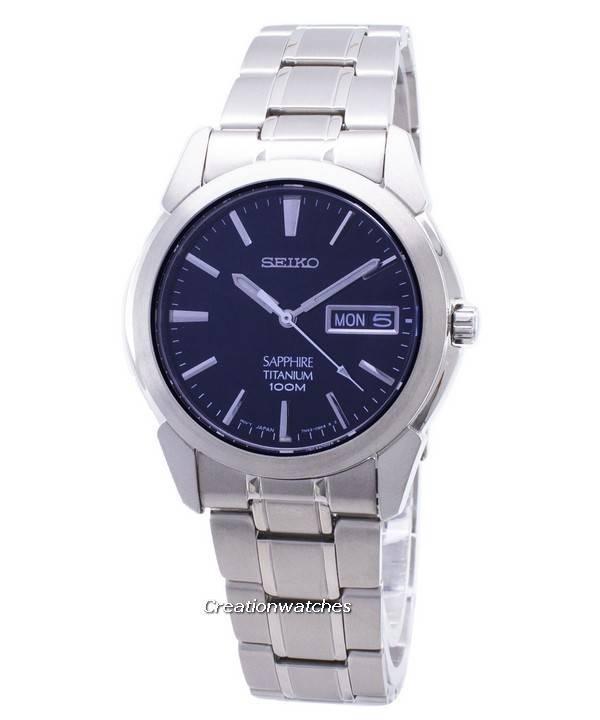 8db3d242f1e35 Seiko Titanium Sapphire SGG729 SGG729P1 SGG729P Men s Watch