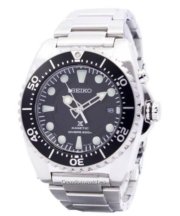 ca5a8d5658fd4 Seiko Kinetic Diver s 200M SKA371 SKA371P1 SKA371P Men s Watch