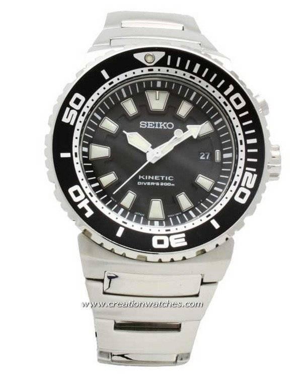 84d372ec14aaa Seiko Kinetic Diver 200M SKA383 SKA383P1 SKA383P Men s Watch
