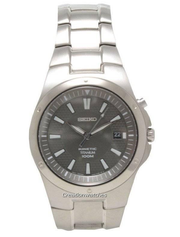 Seiko Kinetic Titanium SKA417P1 SKA417P SKA417 Men s Watch 5308f8331
