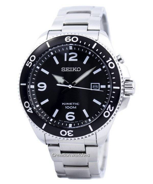 Seiko Kinetic Sports SKA747 SKA747P1 SKA747P Men's Watch - Click Image to Close