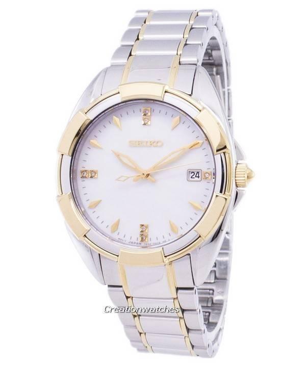 free shipping 92381 fb4ff Seiko Quartz Diamond Accents SKK886 SKK886P1 SKK886P Womens Watch