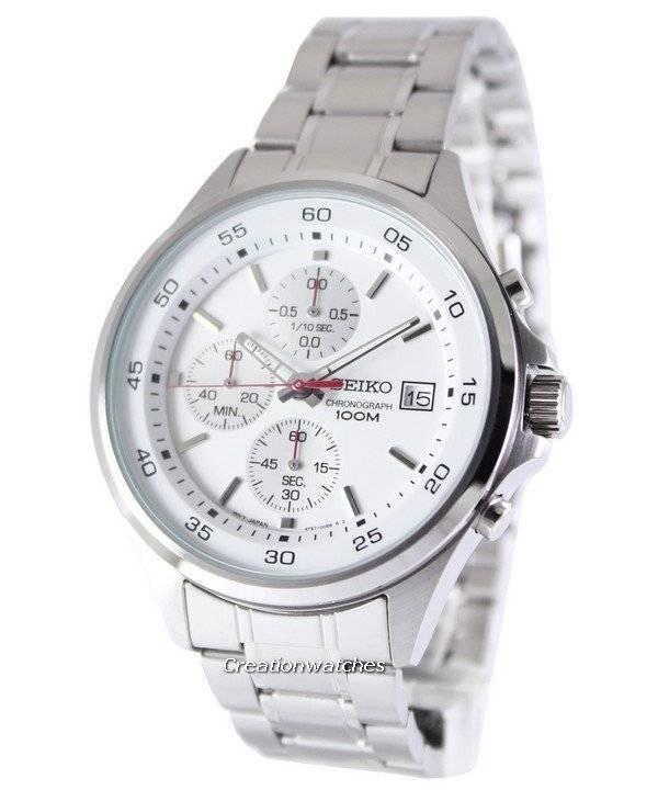 93321e375 Seiko Chronograph Quartz 100M SKS473P1 SKS473P Men's Watch