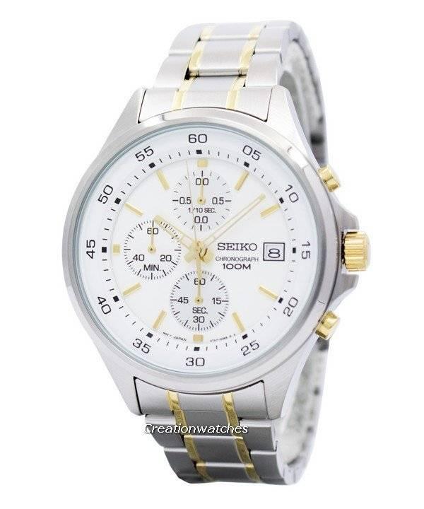 0d2f95cc0 Seiko Chronograph Quartz 100M SKS479 SKS479P1 SKS479P Men's Watch