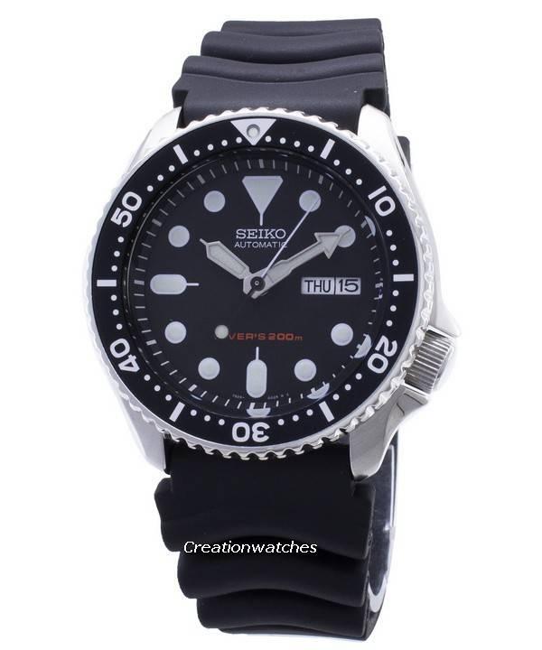Seiko Skx007 Skx007k1 Skx007k Automatic Diver Rubber Band Men S Watch