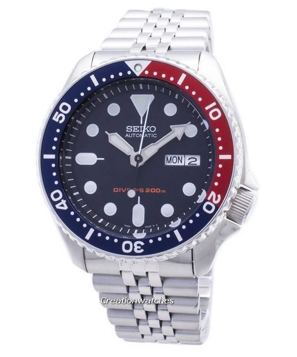 552c96a07 Seiko Automatic Diver's 200M Jubilee Bracelet SKX009K2 Men's Watch