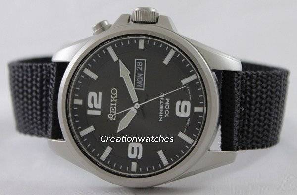 1959709bacc Seiko Kinetic SMY143 SMY143P1 SMY143P Men s Watch