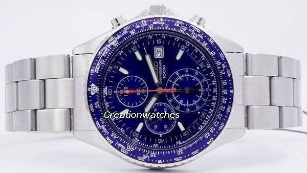 a9f905e3a7d Seiko Flightmaster Pilot Slide Rule Chronograph SND255 SND255P1 SND255P  Men s Watch