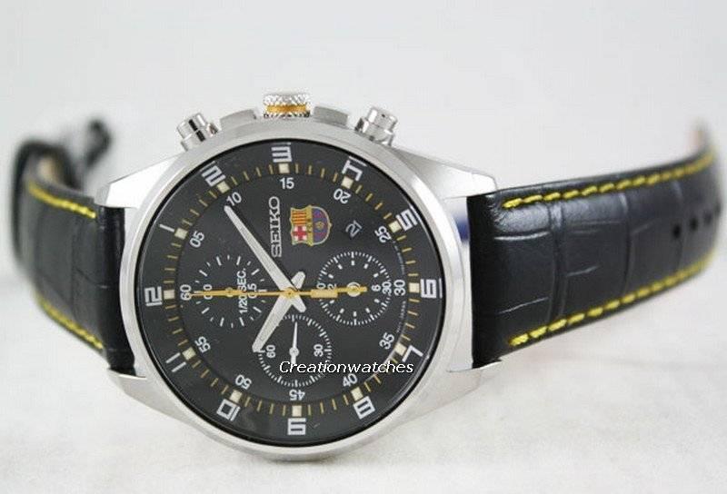 Seiko Chronograph F.C. Barcelona SNDD25P1 SNDD25 SNDD25P Mens Watch 92da7c25d1