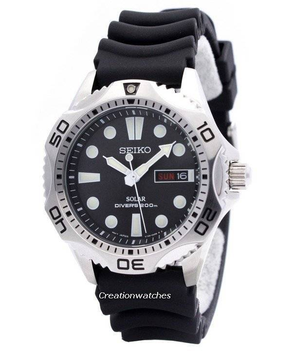 Seiko Solar Scuba Diver Sports SNE107P2 Men s Watch 81771ba058