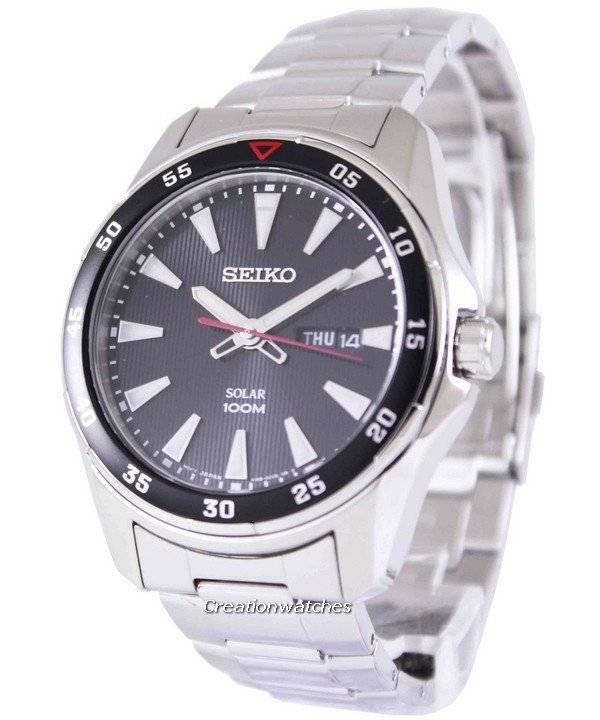 407e31acd18 Relógio Seiko Solar 100m SNE393P1 SNE393P masculino pt