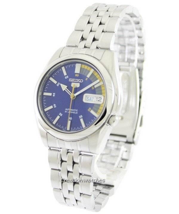 Reloj Seiko 5 Automatic 21 joyas SNK371K1 SNK371K de los hombres es 6ca1b0de37f8
