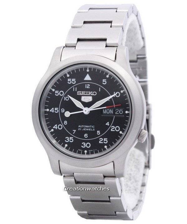 Seiko 5 Automatic Snk809 Snk809k1 Snk809k 21 Jewel Men S Watch