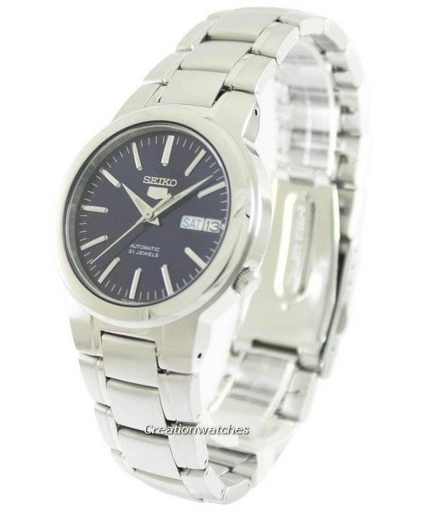 aaf4e9b6971 Relógio Seiko 5 automático 21 jóias SNKA05K1 SNKA05K para homens pt