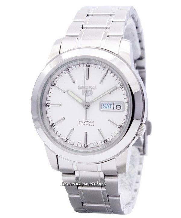 62b97593388 Relógio Seiko 5 automático 21 jóias SNKE49K1 SNKE49K para homens pt