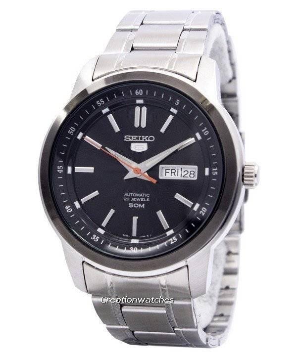 c6ce9deaca5a Reloj de hombre Seiko 5 automático 21 joyas SNKM89 SNKM89K1 SNKM89K