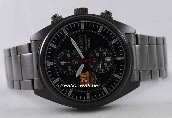 Seiko Chronograph FC Barcelona SNN267 SNN267P1 SNN267P Men s Watch 2196a3b5fa
