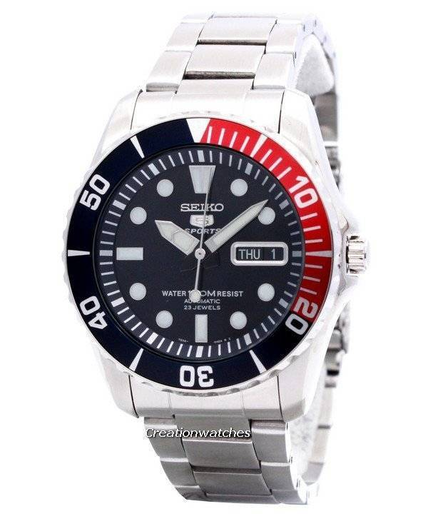 Seiko Automatic Divers 23 Jewels 100m Watch SNZF15 SNZF15K1 SNZF15K Men s  Watch a50e72373