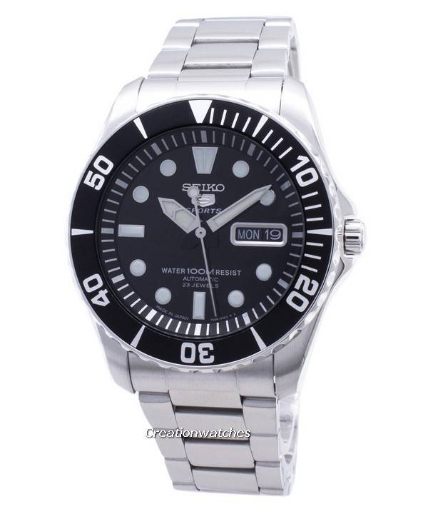7a69f1f0b73 Seiko 5 Sports Automatic 23 Jewels Japan Made SNZF17 SNZF17J1 SNZF17J Men s  Watch