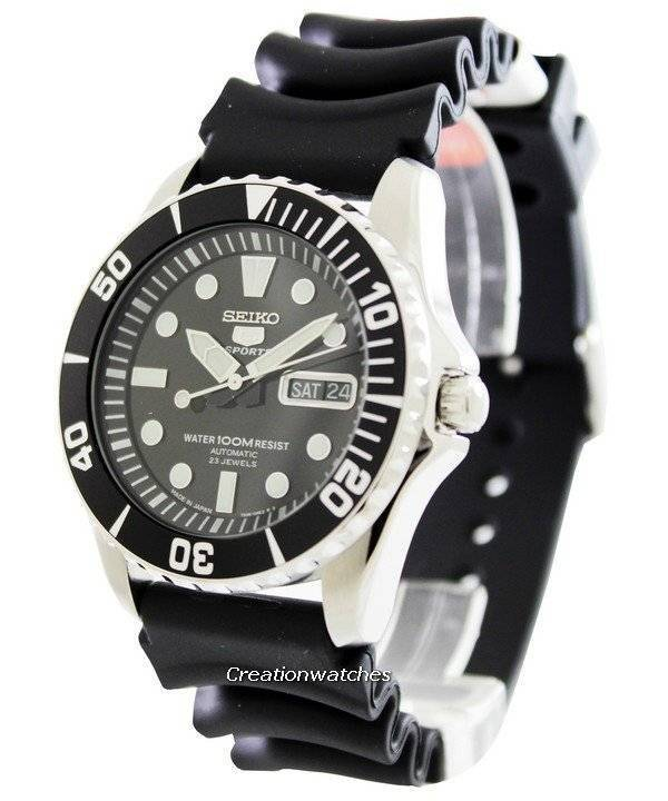 07ce24714ac Relógio Seiko 5 Sports automático SNZF17J2 masculino pt