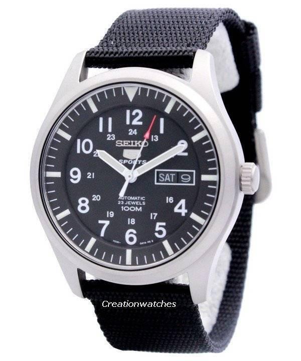 e1e492010 Seiko 5 Sports SNZG15 SNZG15K1 SNZG15K Automatic Men's Watch
