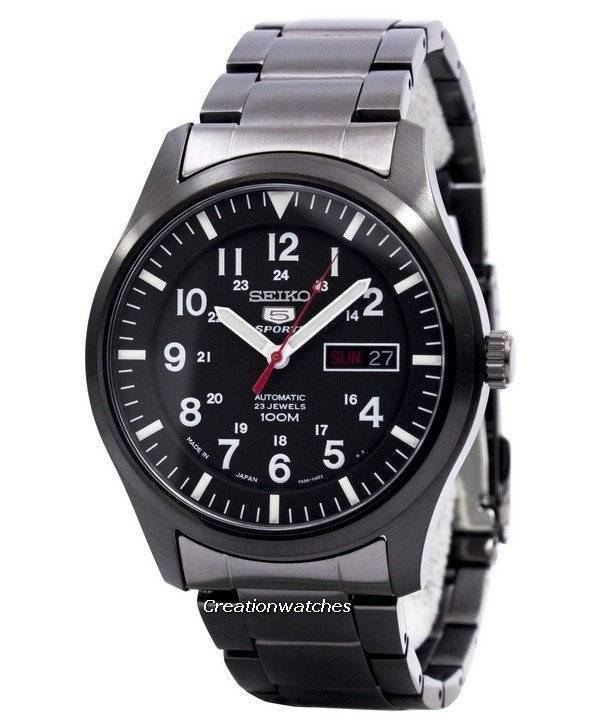 d877e2df13d Relógio Seiko 5 Sports automático SNZG17J1 SNZG17 SNZG17J masculino pt