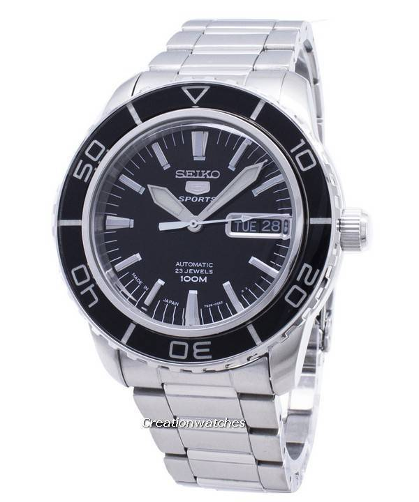 Seiko 5 Sports Automatic Snzh55 Snzh55j1 Snzh55j Mens Watch