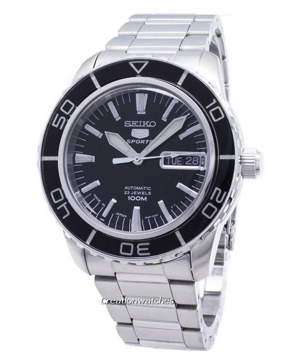 Seiko 5 Sports Automatic SNZH55 SNZH55J1 SNZH55J Men s Watch 93462bf0be04