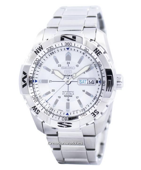 702327606 Seiko 5 Sports Automatic 23 Jewels Japan Made SNZJ03 SNZJ03J1 SNZJ03J Men's  Watch