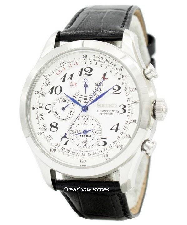 Seiko Perpetual Calendar.Seiko Chronograph Perpetual Calendar Spc131 Spc131p1 Spc131p Mens Watch