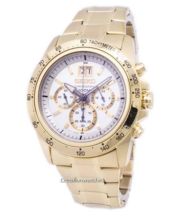 d38dbf15405 Relógio Seiko cronógrafo de quartzo de Lord SPC244 SPC244P1 SPC244P  masculino