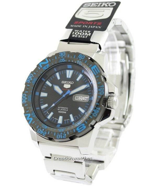 893d5540eb1 Seiko 5 Sports Automatic Japan Made SRP543 SRP543J1 SRP543J Men s Watch
