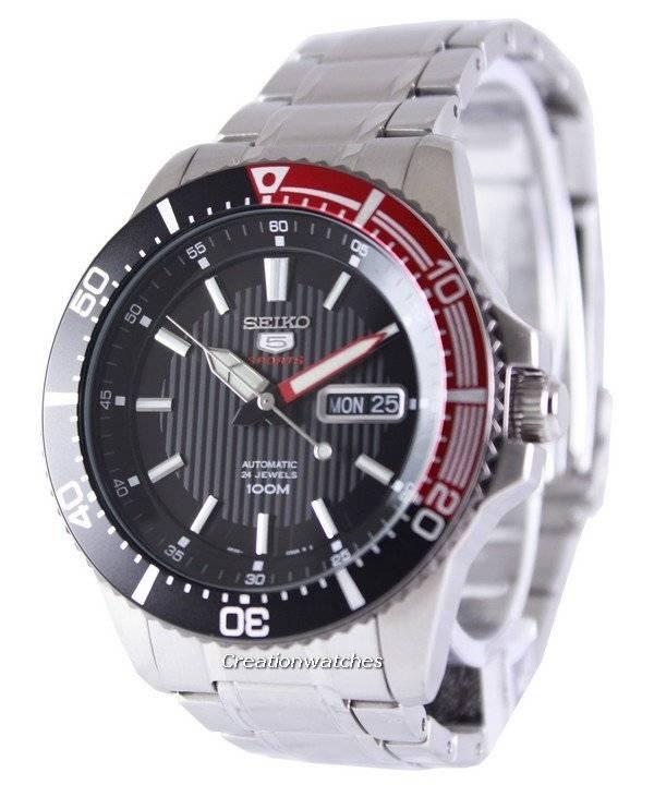 15c0d2f4636a Seiko 5 Sports Automatic 24 Jewels 100M SRP557K1 SRP557K Reloj para hombre