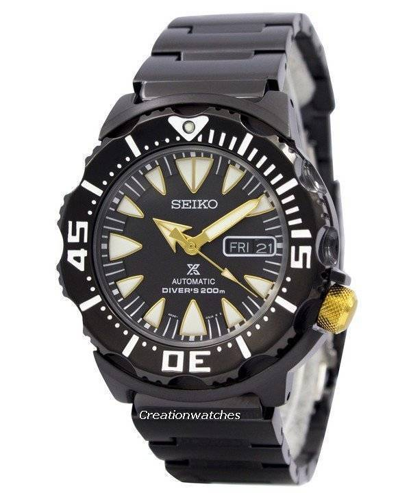 Seiko Prospex Air Diver 200M Monster SRP583 SRP583K1 SRP583K Men's Watch - Click Image to Close