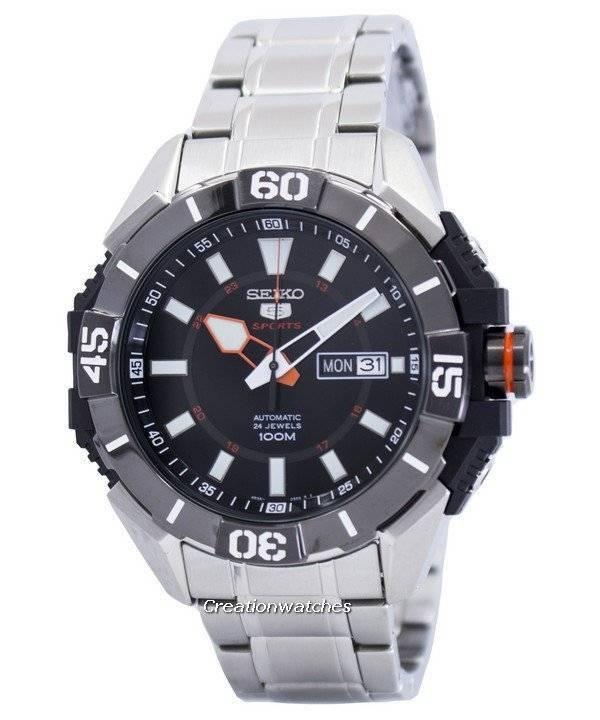 37b245e8986 Relógio Seiko 5 Sports automático 24 jóias SRP795 SRP795K1 SRP795K dos  homens