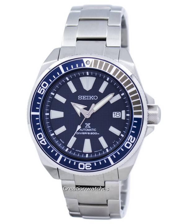 51869062c4a Seiko Prospex Samurai automático Divers 200m Japão relógio fez SRPB49  SRPB49J1 SRPB49J masculino