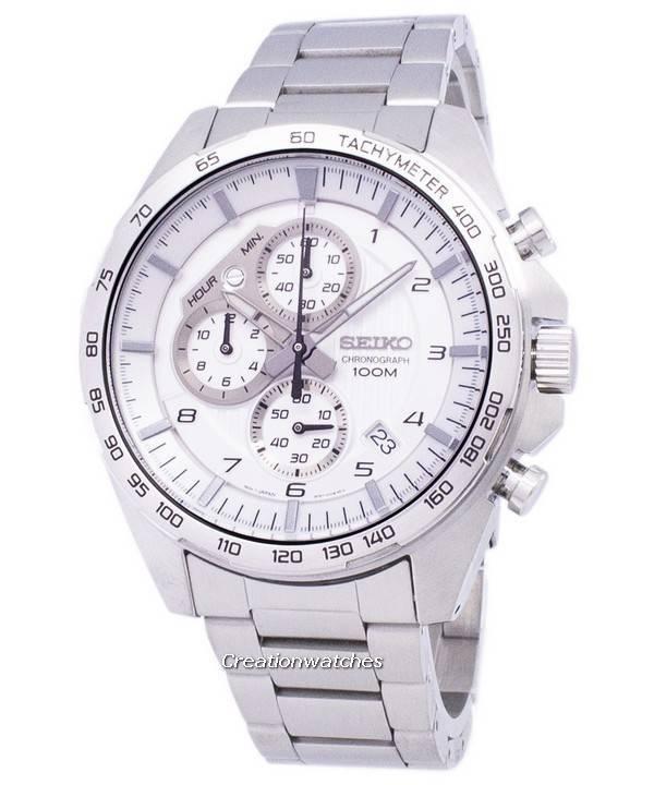 economico per lo sconto 33b6f 63522 Reloj Seiko cronógrafo taquímetro cuarzo SSB317 SSB317P1 SSB317P ...