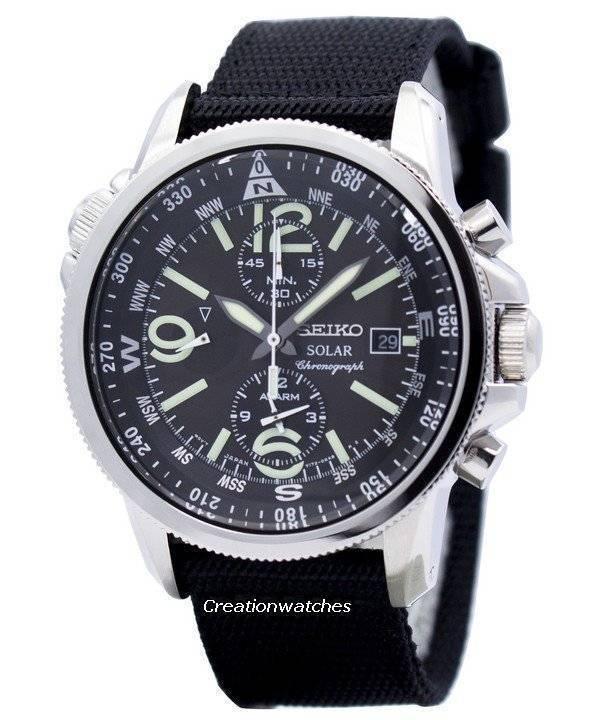 3e2fcb3fdca Relógio Seiko Prospex Solar Chronograph SSC135P1 SSC135P masculino pt