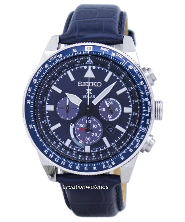 621ff7a2b5e Relógio Seiko Prospex Solar Chronograph SSC609 SSC609P1 SSC609P masculino