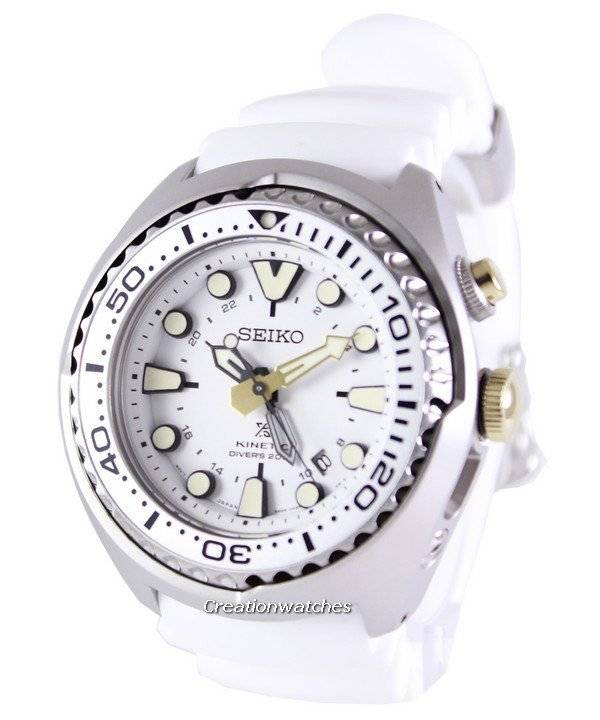 Seiko Prospex Sea Kinetic GMT Diver s 200M SUN043 SUN043P1 SUN043P Men s  Watch f4cfd230ac