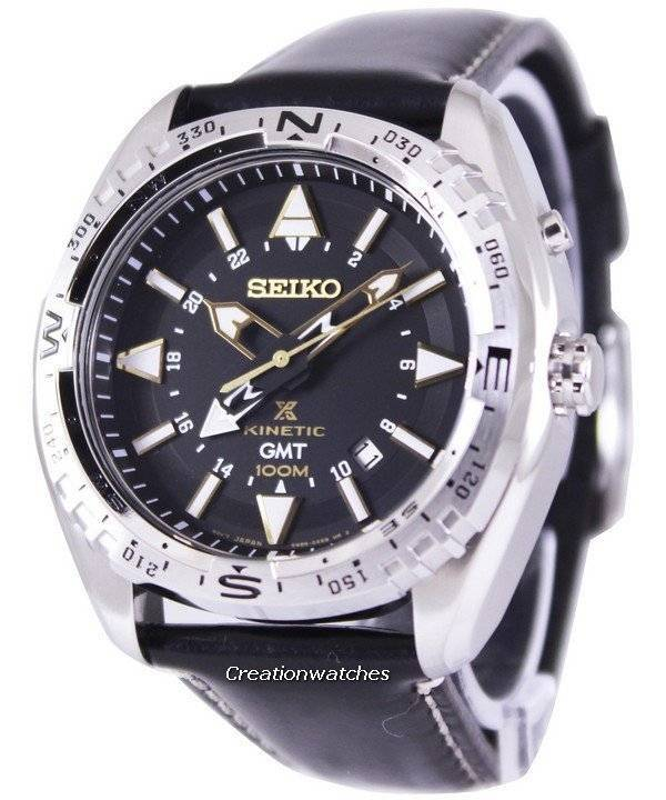Seiko Prospex Land Kinetic GMT 100M SUN053 SUN053P1 SUN053P Men s Watch 2d5b012dab