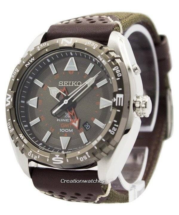 Seiko Prospex Kinetic GMT 100M SUN061 SUN061P1 SUN061P Men s Watch 9ccf955f8