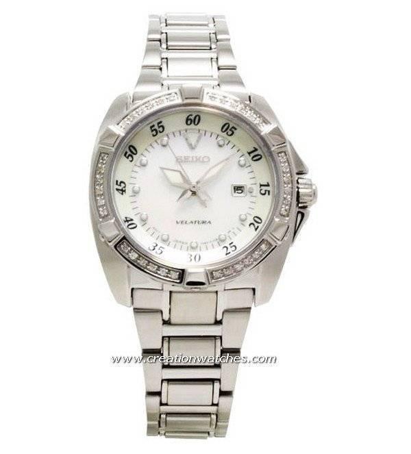 18bfab90c909 Seiko Velatura Ladies Diamond SXDA19P1 SXDA19 with 36 diamonds