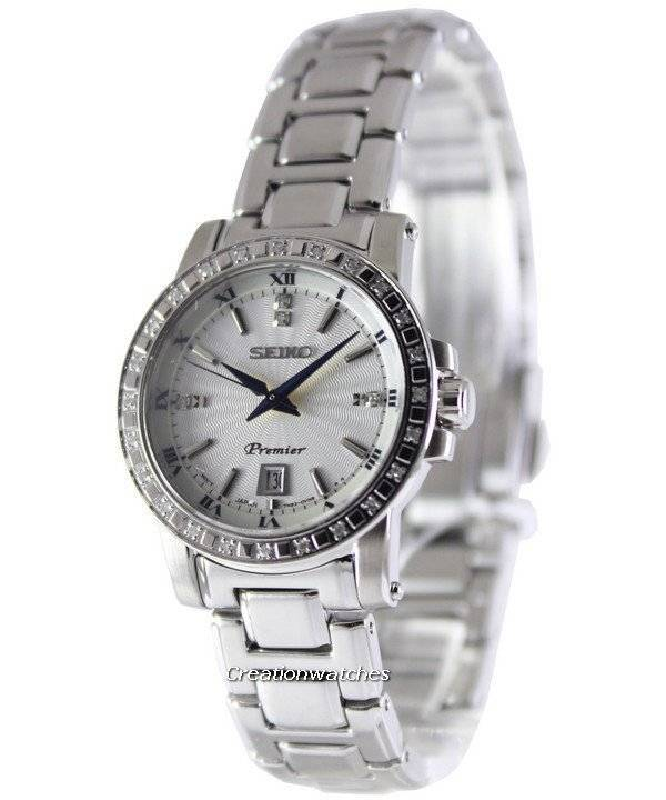 Fonkelnieuw Seiko Premier Quartz diamanten SXDG57P1 SXDG57P Women's Watch nl GX-72