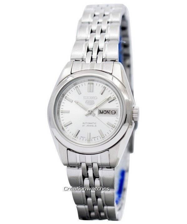 Seiko 5 Automatic 21 Jewels SYMA27 SYMA27K1 SYMA27K Women s Watch cbcf5f15e