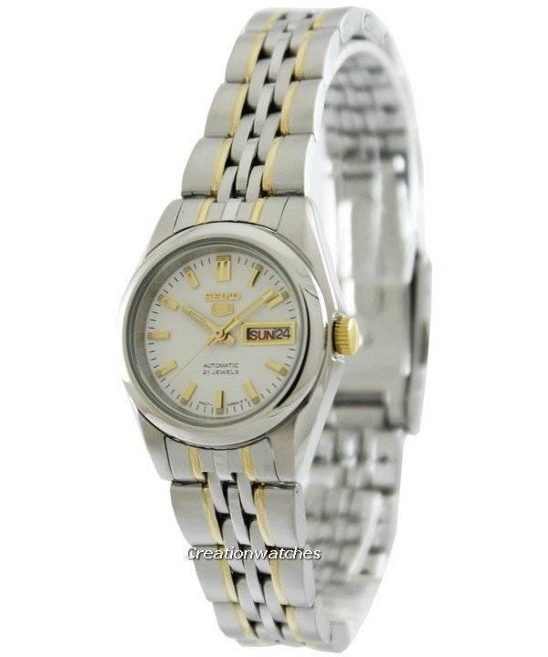Seiko 5 Automatic 21 Jewels Syma35 Syma35k1 Syma35k Women S Watch