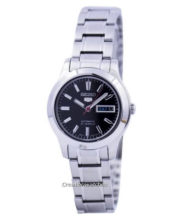 d4e7f682e65 Relógio Seiko 5 Sports automático 21 joias SYMD95 SYMD95K1 SYMD95K da mulher