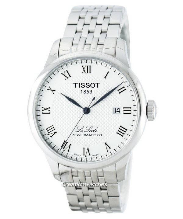fe2d8a05360 Relógio Tissot Le Locle Powermatic 80 T006.407.11.033.00 automático  masculino
